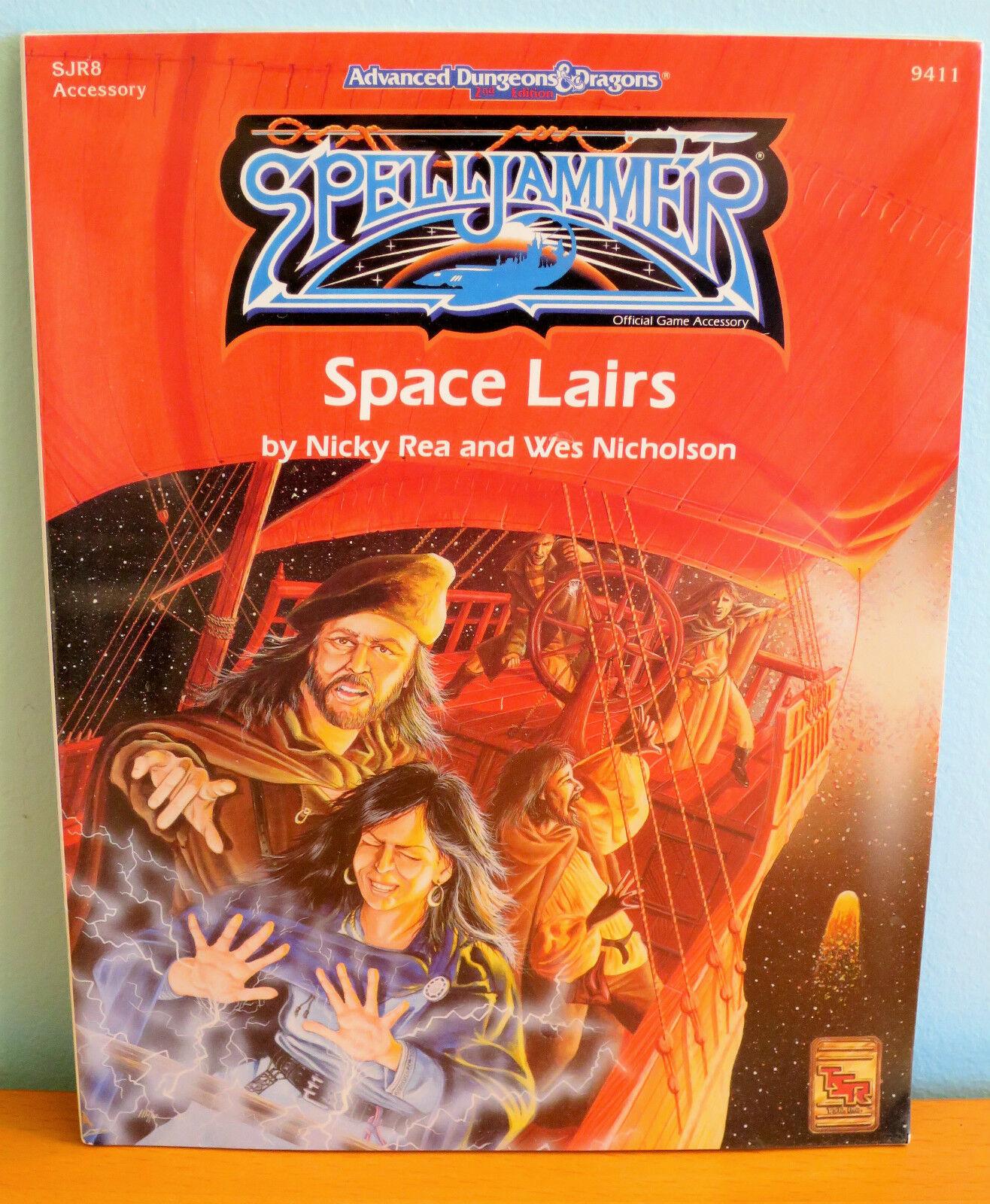 NEW AD&D Spelljammer Lairs - sealed - TSR