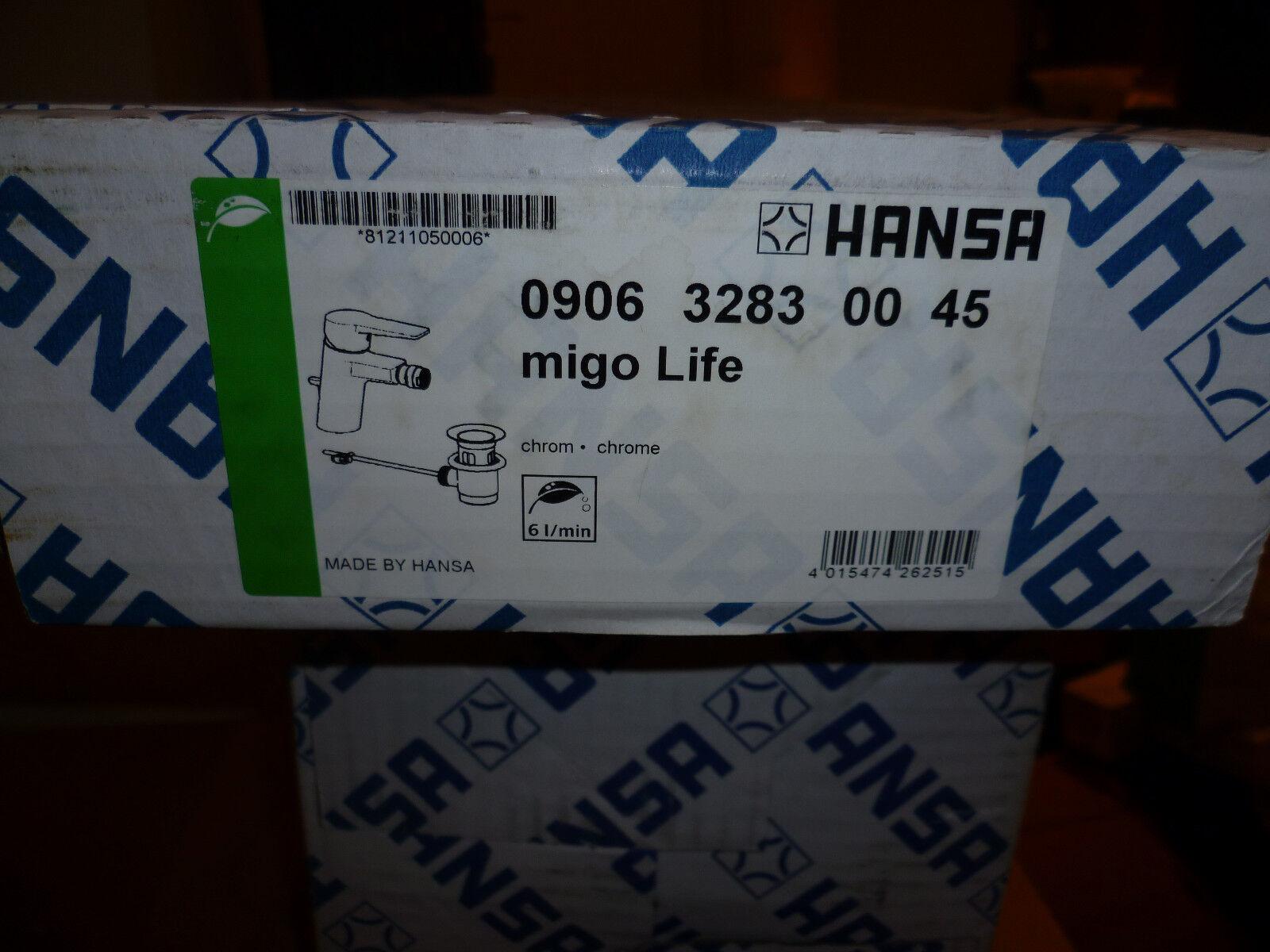 HANSA TWIST BIDETARMATUR CHROM 0906.3283