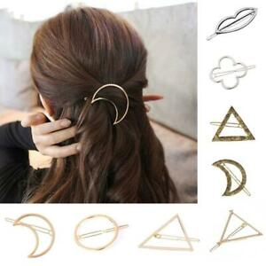 Women-Geometric-Hair-Clips-Barrettes-Accessories-Pins-Clip-Fastening