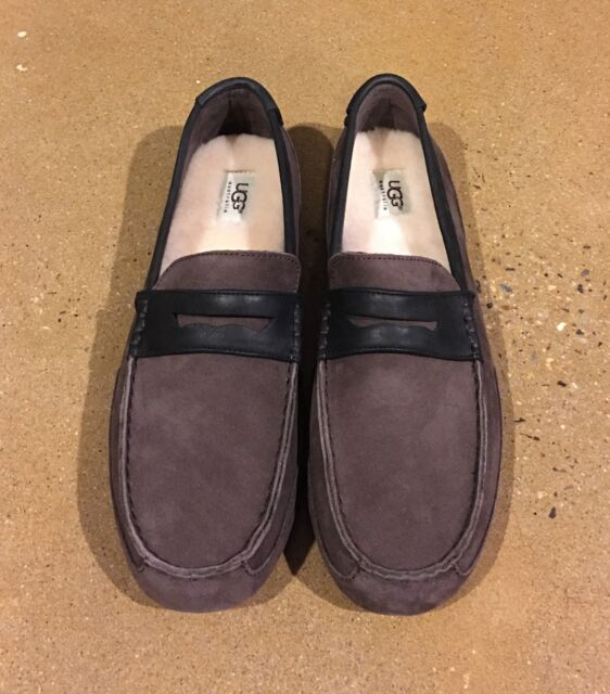 8fb560f0eef UGG Tucker Men s Size 12 Stout Loafers Slippers Comfy Driving Shoes Twin  Sole