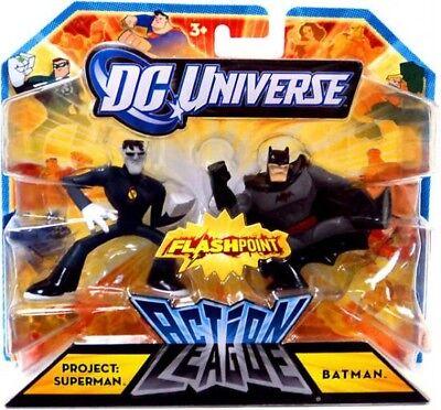 Flashpoint Action League Project: Superman & Batman 3-Inch ...