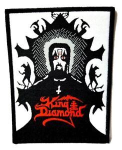 King Diamond Aufn/äher Fatal Portrait Patch Gewebt /& Lizenziert !!