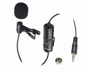 VidPro Professional Lavalier Condenser Microphone Smartphone iPhone XM-L DSLR