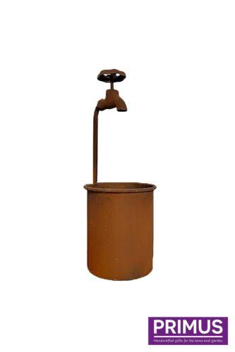 Rubinetto dell/'acqua da Giardino in Metallo Fiore Fioriera-rustico-RAPIDO E GRATUITO consegna D21