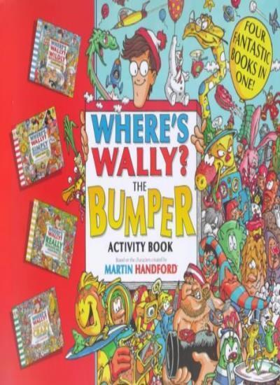 Where's Wally?: Bumper Activity Book By Martin Handford