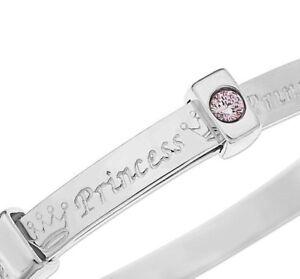 925 Sterling Silver Baby Bracelet Bangle Shower Baptism Christening Present Gift
