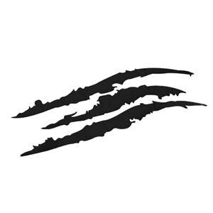 Kratzer-Aufkleber-Klauen-Krallen-Risse-Sticker-Auto-Motorrad-aufgekratzt-Dekor