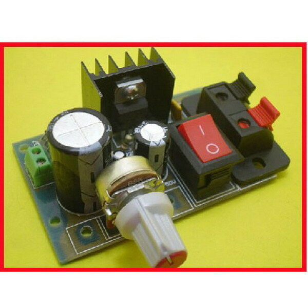 LM317 Step Down DC 5V-35V to 1.25V-30V DIY Kit AC/DC Power Supply Module HB