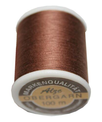 Las máquinas de coser Ober Garn hilo 100m algodón 50//3 braunnougat 1040