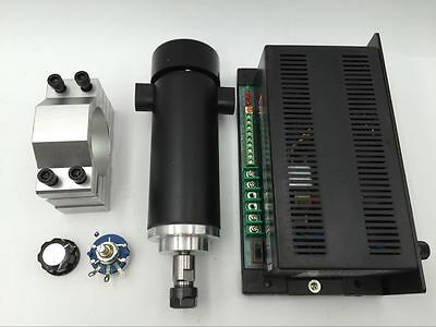 600W 100V DC 0.6NM Air-Cooled Spindle Motor ER11 Mach3 Power Governor CNC PCB