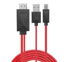 ❉HD TV MHL HDMI KABEL 11 PIN MICRO-USB ADAPTER FÜR TABLET HANDY SMARTPHONE VIDEO