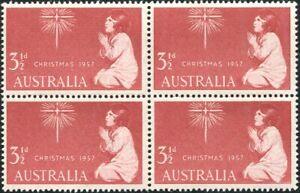 Australia-1957-SG298-3-d-Xmas-block-MNH