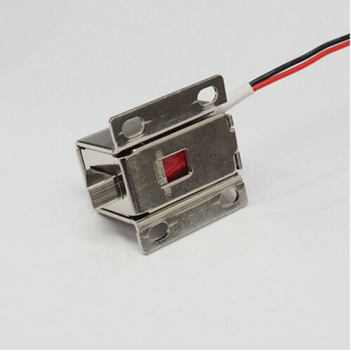 DC12V Electronic Lock Latch Core Door Gate Electric Release Assembly Solenoid