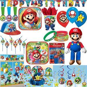 Super Mario Kindergeburtstag Party Dekoration Geburtstag Set Motto
