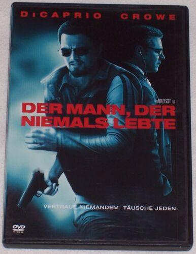 1 von 1 - DER MANN, DER NIEMALS LEBTE - Leonardo DiCaprio, Russell Crowe, DVD
