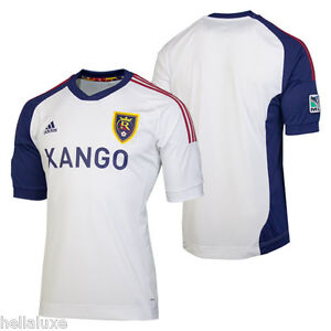 5f7299623de0 nwt~Adidas REAL SALT LAKE MLS USA Football Soccer Jersey Shirt Away ...