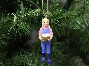 Farm-Girl-with-Chicken-Eggs-Christmas-Ornament-Farming