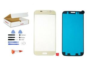 Gold-front-glass-lens-replacement-LCD-Digitizer-repair-kit-Galaxy-S6-G920