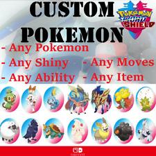 ✨Custom 6 Pokemon✨ Full Team Customization Shiny 6IV Pokemon Sword and Shield