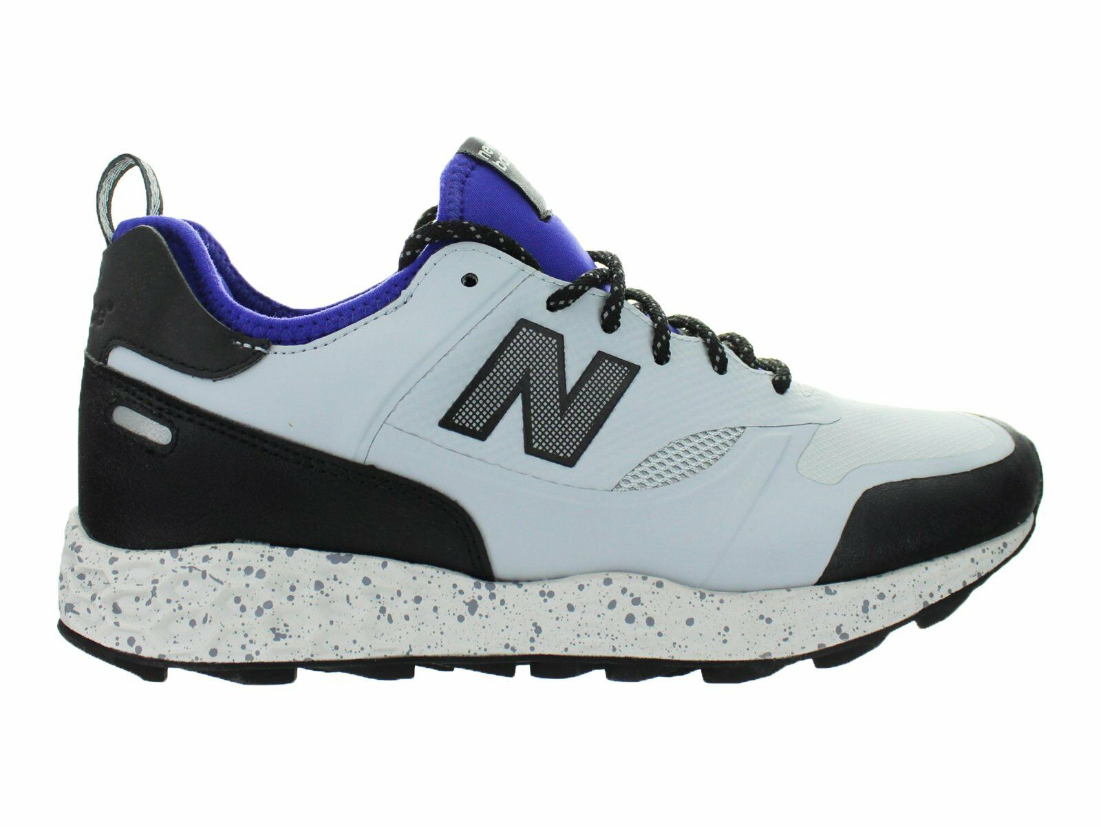 Mens New Balance Fresh Foam Trailbuster Grey Purple Black MFLTBGP