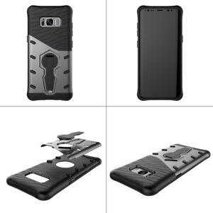Protecteur-Antichoc-Protection-Arriere-Telephone-Etui-Housse-Avec-Support-Pour-Samsung