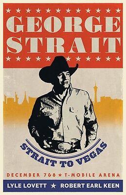 George Strait Poster 24x36