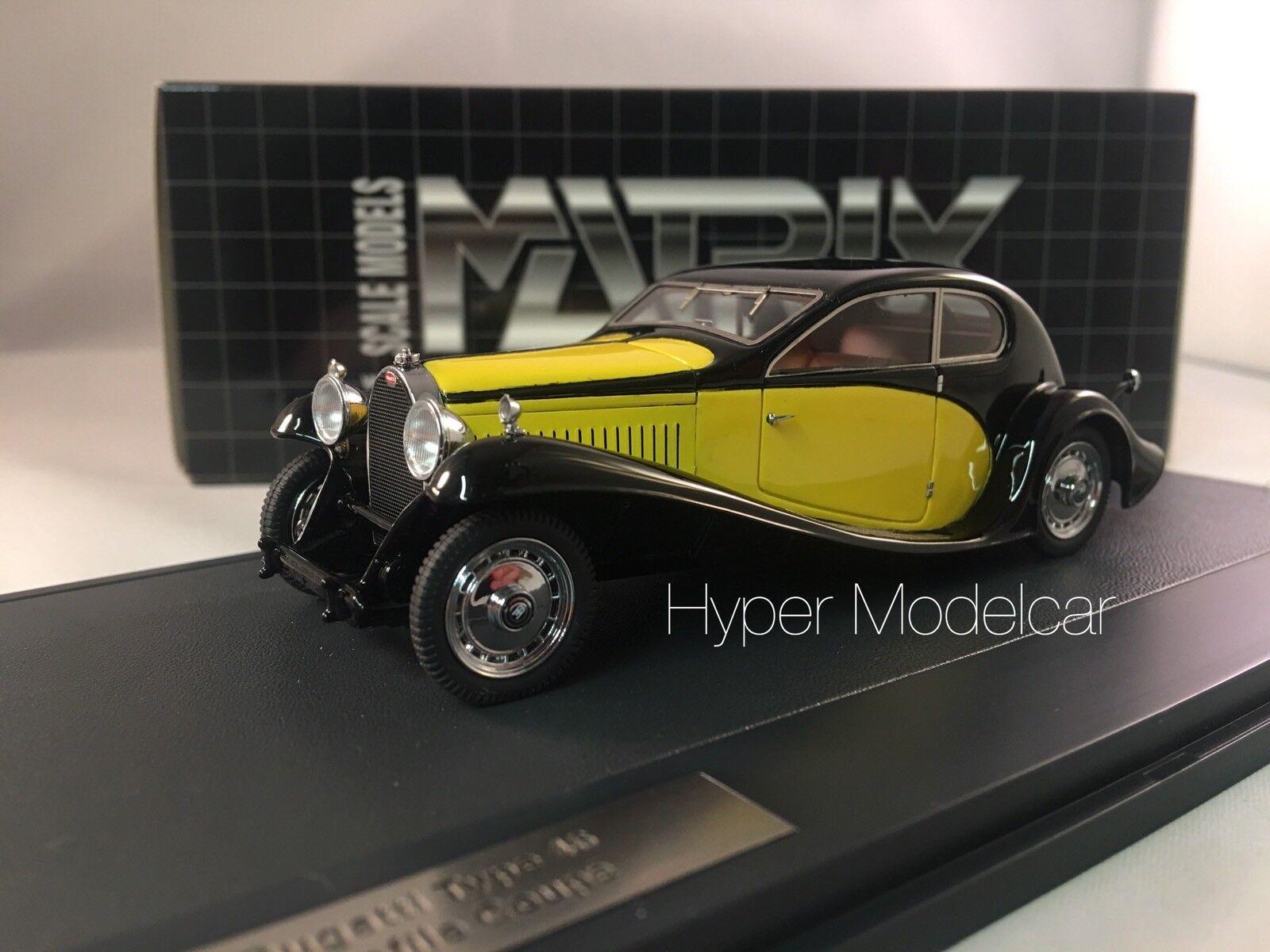 MATRIX Scale Models 1 43 Bugatti tupe 46 superprofile coupe 1930 mx40205-011