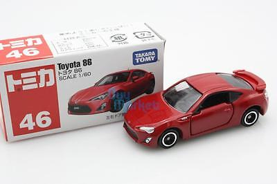 NEW Takara Tomica Tomy #46 Toyota 86 RED Scale 1/60 Diecast Toy Car Japan