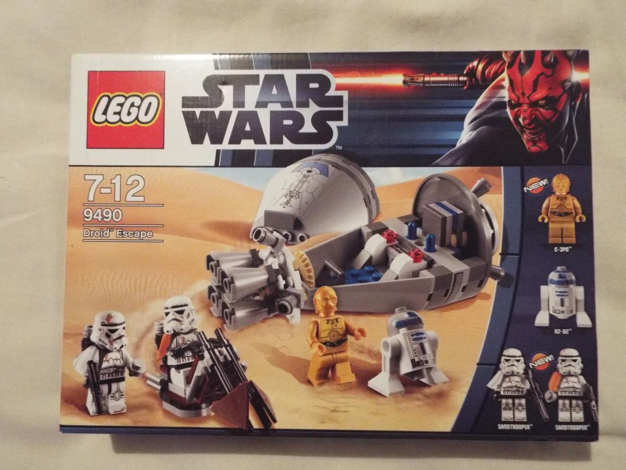 Lego STAR WARS Set 9490 DROID ESCAPE ESCAPE ESCAPE BRAND NEW SEALED 3f41b9