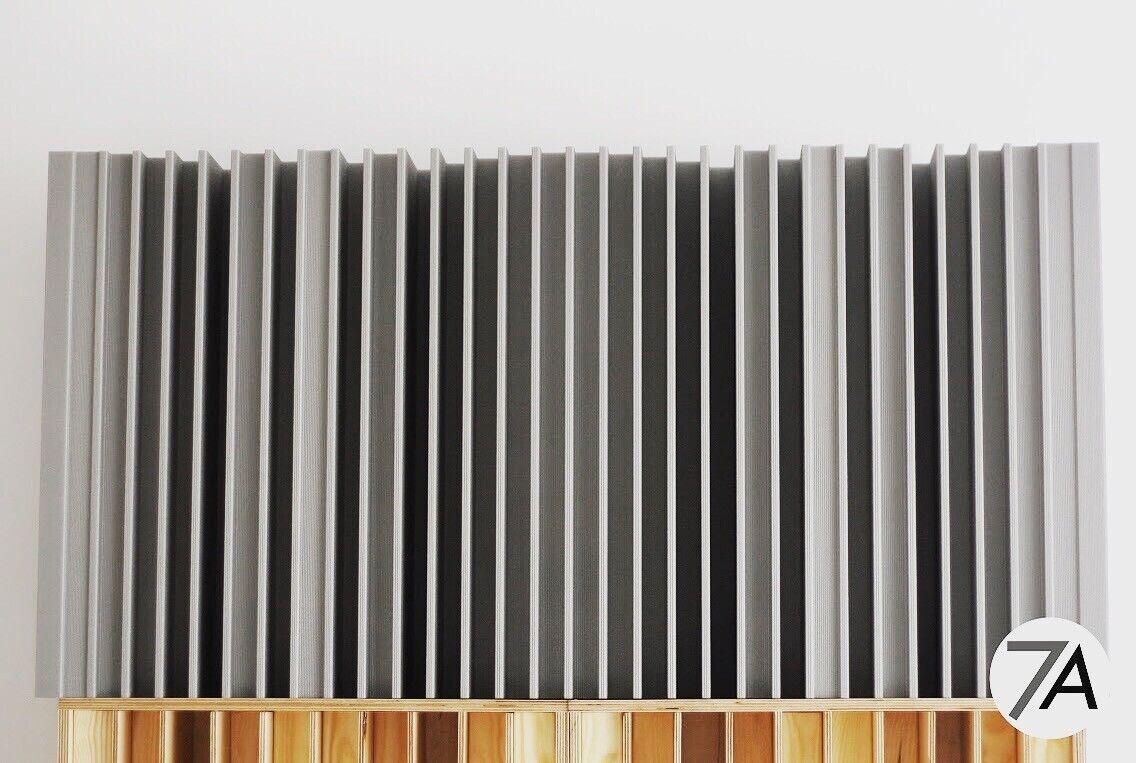 1D QRD n31 Schroeder Sound Acoustic Diffuser Diffusor Panel Absorption 2 pcs