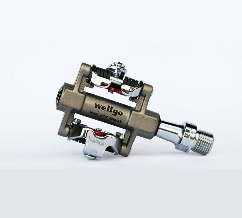 VH88  Wellgo MTB Pedals WAM-M717 Clipless Bike Sealed bearing  with cheap price to get top brand