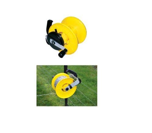 Seil Horizont Haspel /& Trage f Band Zaun Litze Turbo Roller//Maxi//Super//Mini