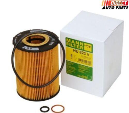 Rolls Royce BMW Oil Filter MANN HU 823 X Engine Oil Filter