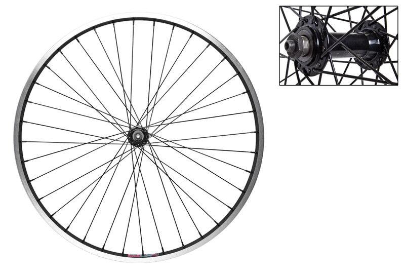 WM Wheel  Front 26x1.5 559x19 Aly Bk Msw 36 Aly Qr Bk 14g Bk
