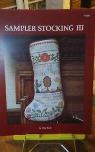 Cross-stitch-chart-Mary-Beale-Sampler-Christmas-Stocking-3-shepherds-watching