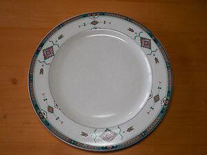 Image is loading Studio-Nova-ADIRONDACK-Y2201-Set-of-8-Dinner- & Studio Nova ADIRONDACK Y2201 Set of 8 Dinner Plates Southwest Teal ...