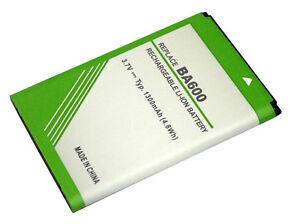 Powersmart-1300mAh-batteria-per-Sony-ST25i-BA600-Xperia-U