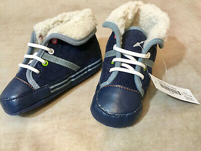 Naartjie Kids Baby Boys shoes size 18-24 month Navy color ...
