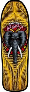 Powell-Peralta-Mike-Vallely-ELEPHANT-AUTOGRAPHED-Skateboard-Deck-YELLOW