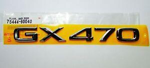 FACTORY NEW GENUINE LEXUS GX470 03 04 05 06 07 08 09 FULL CHROME EMBLEM KIT