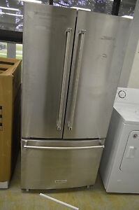Kitchenaid Krff302ess 33 Quot Stainless French Door