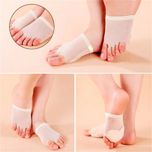 Belly Ballet Dance Foot Toe Pad Shoes Forefoot Half-Foot Protect Supplies S