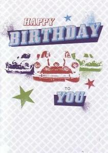 Birthday card blank features classic mini austin morris rover image is loading birthday card blank features classic mini austin morris bookmarktalkfo Images
