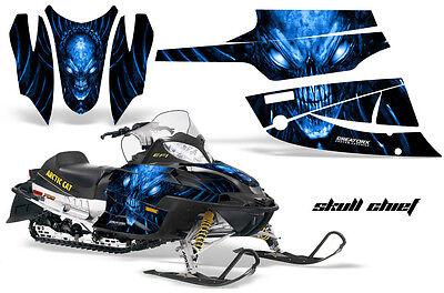 Snowmobile Headlight Eye Graphics Kit Decal Cover For Arctic Cat Firecat CYBRG G
