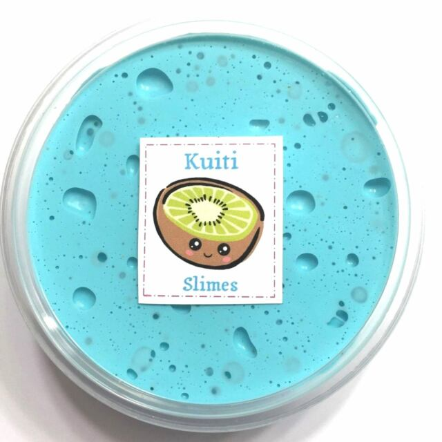 SLIME Cool Spring Fluffy Teal. 3oz Scented. Kuiti Slimes. for sale ... 1f991a16c9