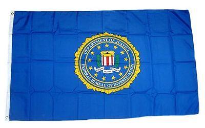Fahne / Flagge USA - FBI NEU 90 x 150 cm Flaggen