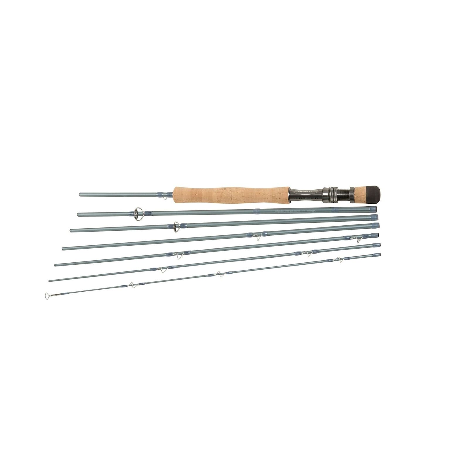 New Shakespeare Agility 2 EXP Travel Fly Fishing Rod 10ft #7 7pc 1436384