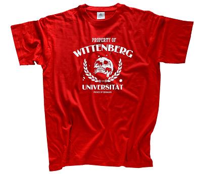 Hamlet T-Shirt S-XXXL neu Property of Wittenberg University Halle Universität