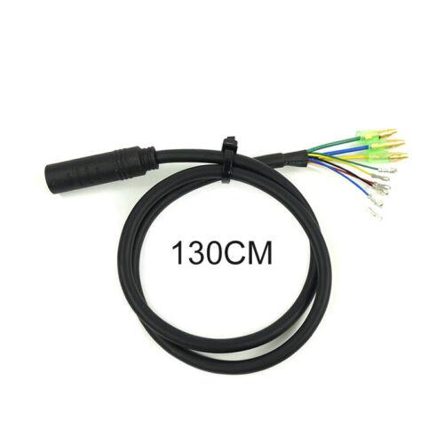 1*E Bike 9 Pin Motor Extension Cable Cord For Bafang Front Rear Wheel Hub Motors