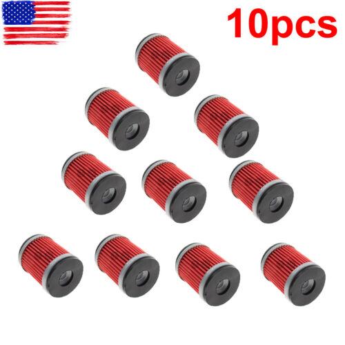 10pc Oil Filter for Yamaha YZ250 XT250 YZ250F YZ450F YBR250 WR250F WR450F WR250X